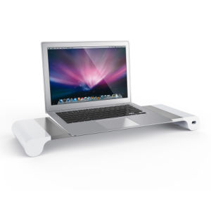 Table Computer Display Bracket Monitor Stand with 4 Ports USB 2.0 Charger pictures & photos