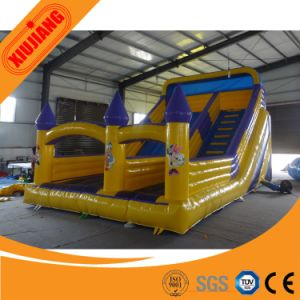 High Quality Carton Character Indoor Inflatable Slide for Kids Play pictures & photos