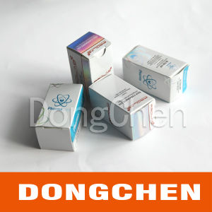 Custom Any Size Waterproof Adhesive Coated Paper Durable Vial Box pictures & photos