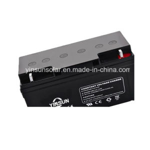 12V 65ah High Quality and High Reliability Solar Battery pictures & photos