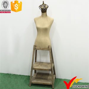 Vintage Woman Boutique Decorative Mannequins with Wood Stand pictures & photos
