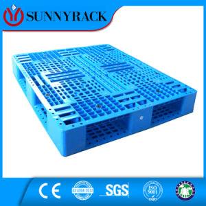 WD Type Mesh Surface Double Side Reversible Heavy Load HDPE Plastic Pallet pictures & photos