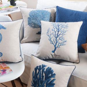 Low Price Cotton Linen Lumbar Throw Pillow for Teen Girls pictures & photos