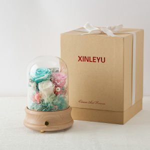 Promotion christmas Wedding Music Box Flower for Gift pictures & photos