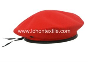 2016 New Style 100% Wool Felt Hat Military Hat Beret Cap pictures & photos