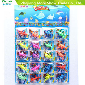 20PCS Colorful Crystal Soil with Growing Dinasour Water Growing Toys pictures & photos