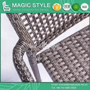 Rattan Chair Dining Chair Stackable Chair Outdoor Chair Metal Chair (Magic Style) pictures & photos