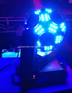 12PCS CREE 4 in 1 LED Cosmopix Moving Head Light/Football Effect Light/Disco Light/Stage Light pictures & photos