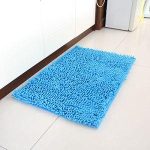 Chenill Long Pile Non-Slip Base Bath Mat pictures & photos