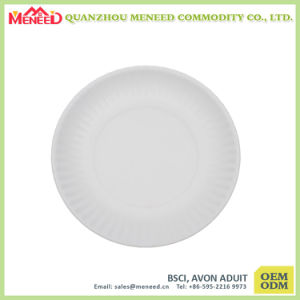 Party Paper-Like Melamine Round Plate pictures & photos