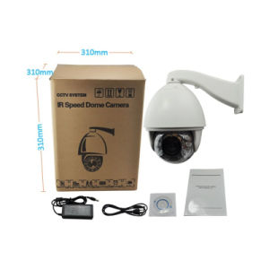 1080P H. 264 20X Zoom Auto Tracking High-Speed Dome IP Surveillance Camera pictures & photos
