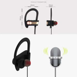 Bluetooth 4.1 Wireless Sport Bluetooth Earphone with Mic Noise Cancelling pictures & photos