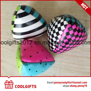 En71 PU Soft Juggling Ball, Promotional Hacky Sack, Stuffed Kick Ball pictures & photos