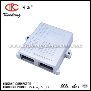 Kinkong Automotive ECU PCB Aluminum Enclosure Box for 24 Pin Connectors pictures & photos
