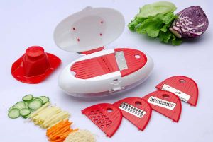 New Arrivel Multi Chopper Slicer Vegetable Grater 5 in 1 Kitchen Grater pictures & photos