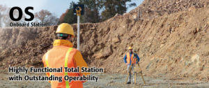 Topcon OS Series on-Board Total Stations pictures & photos