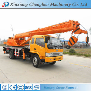 Hydraulic Straight Boom Machinery Factory Truck Crane with Improved Hydraulic System pictures & photos