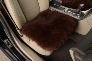 Whole Sheep Skin High Quality Chair Seat Pad