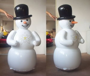 Christmas Decoration Inflatable Snowman and Santa pictures & photos