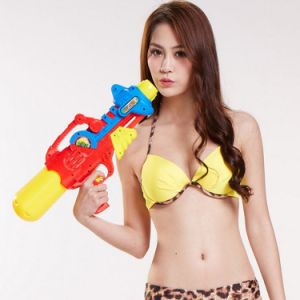 728508-Plastic Squirt Gun Water Shooters Funny Gun Toy for Kids 850ml 508 - Color Random pictures & photos