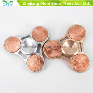 Us Dollar Metal Alloy EDC Hand Fidget Spinner High Speed Focus Toy Gifts pictures & photos