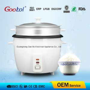 Useful Electric Rice Cooker Glass Lid Nonstick Coating Inner Pot RoHS LFGB Dgccrf FDA Food Contact Certificate pictures & photos