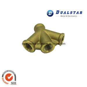 Custom Made 4 Way Copper Hose Fitting for Pneumatic