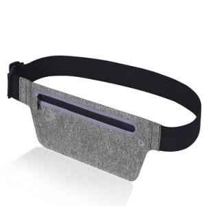 Woman Adjustable Sport Waist Belt Running Bag with Fingerprint Scan pictures & photos