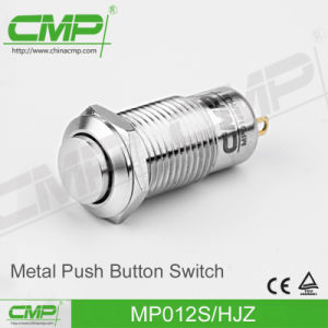 1no Momentary or Latching with Ring Lamp Push Button Switch (12mm) pictures & photos