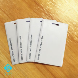 Passive 125kHz RFID Clamshell ID Card pictures & photos