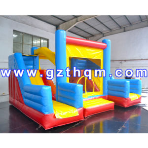 Inflatable Bouncy Castle for Kids Play/Commercial Air Bouncer Inflatable Trampoline pictures & photos