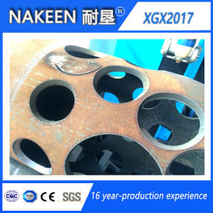 Five Axis CNC Steel Pipe Plasma Cutter of Nakeen China pictures & photos