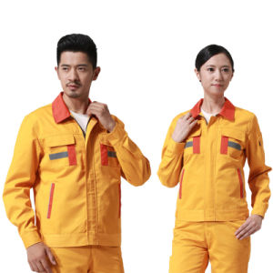OEM 100% Polyester Wholesale Work Uniform with Facotry Price pictures & photos