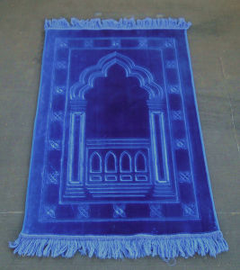 Thickness Raschel Emboss Turkey Prayer Mat pictures & photos