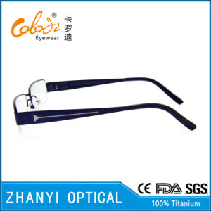 Latest Design Beta Titanium Eyeglass (8320) pictures & photos