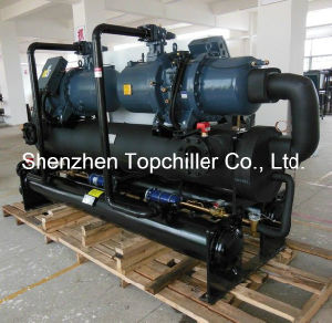 400kw Thermoforming Industry Water Cooled Screw Chillers pictures & photos