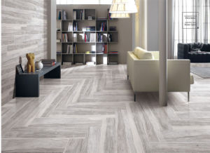 Cheap Natural Stone Wood Look Ceramic Tile Price pictures & photos