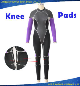 Women Waterproof Smooth Skin Neoprene Plain Diving Wetsuit pictures & photos