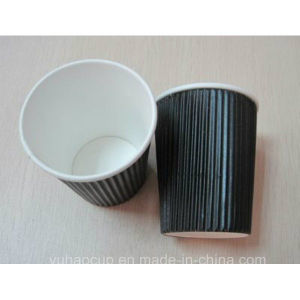 12oz Ripple Paper Cups for Hot Coffee (YHC-100) pictures & photos