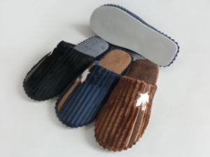 Popular Sale Men Indoor Warm Slipper for Winter pictures & photos