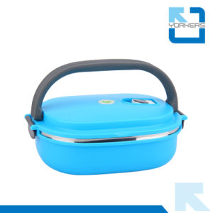 Popular 304 Stainless Steel Bento Lunchbox & Tiffin Box pictures & photos
