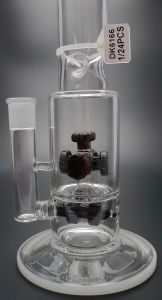 D&K Glass pipe Glass Bubbler Water Pipe Oil Rig with Glass Nail Dome and Bowl Water Pipes pictures & photos