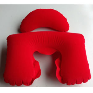 Inflatable Promotion Gift U-Shape Neck Pillow pictures & photos