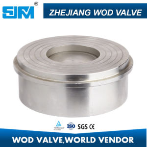 Stainless Steel 2PC Threaded Check Valve (valvula) pictures & photos