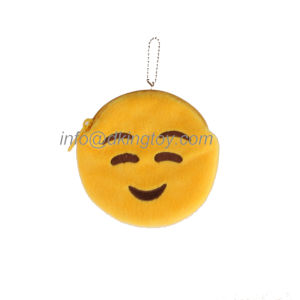 New Design Custom Fun Emoji Plush Coin Bag pictures & photos
