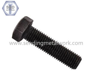 Hexagon Bolts DIN933 Class10.9 Full Thread Bolts Black pictures & photos