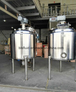 1000L Stainless Steel Steam Heating Double Jacketed Mixing Tank pictures & photos