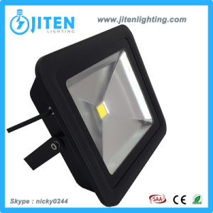 New Design Slim LED Flood Light with Tempered Glass IP65 LED Flood Lamp pictures & photos