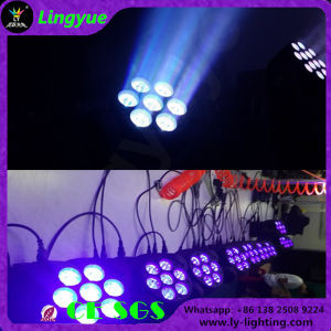 7PCS 12W Beam LED Moving Head Stage Lighting pictures & photos