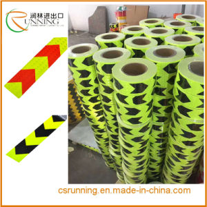 High Intensity Grade Red&White/Red Arrow Truck Reflective Tape